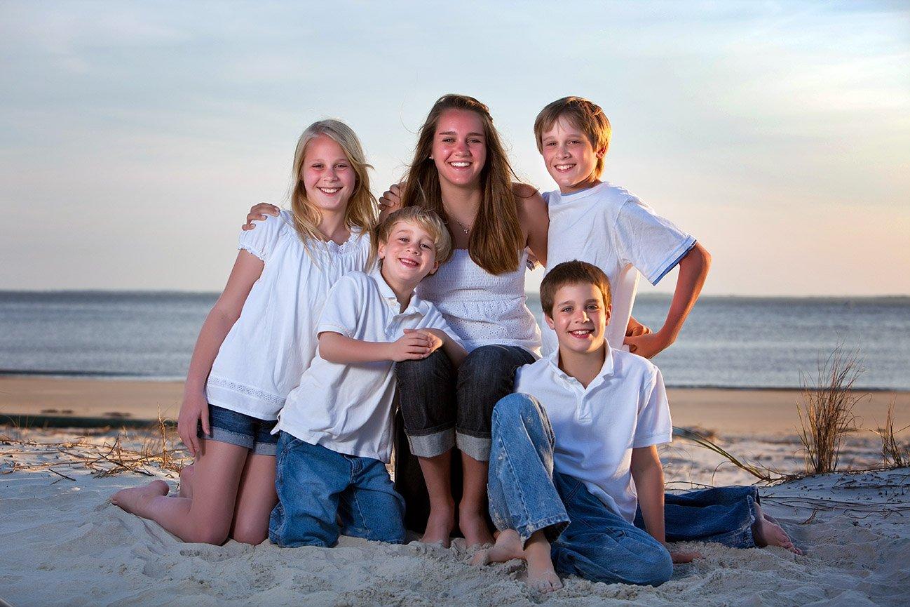 Family Beach Pictures Hilton Head Bluffton Family Beach Portrait Photographer Kellie