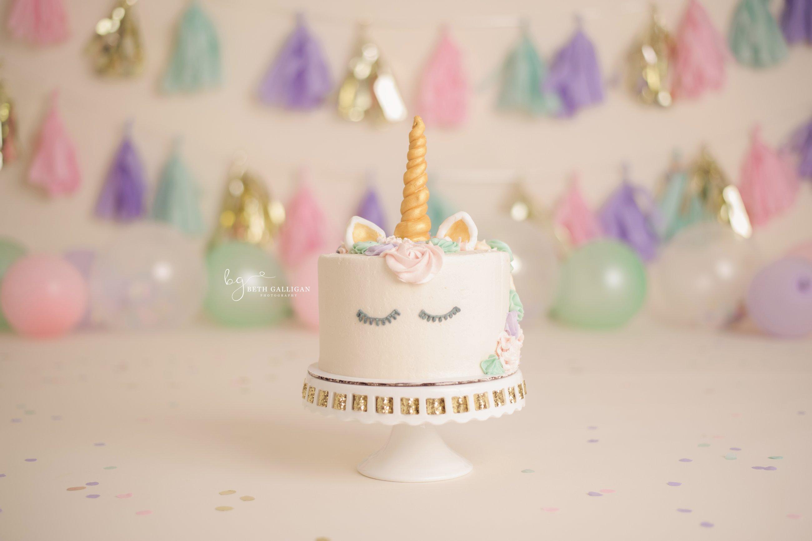 Rs Magical Unicorn Cake Smash Portraits