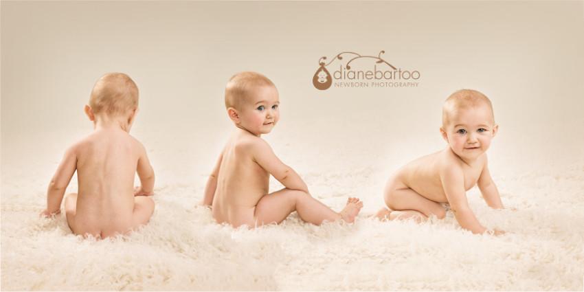 6 month baby photos riverside
