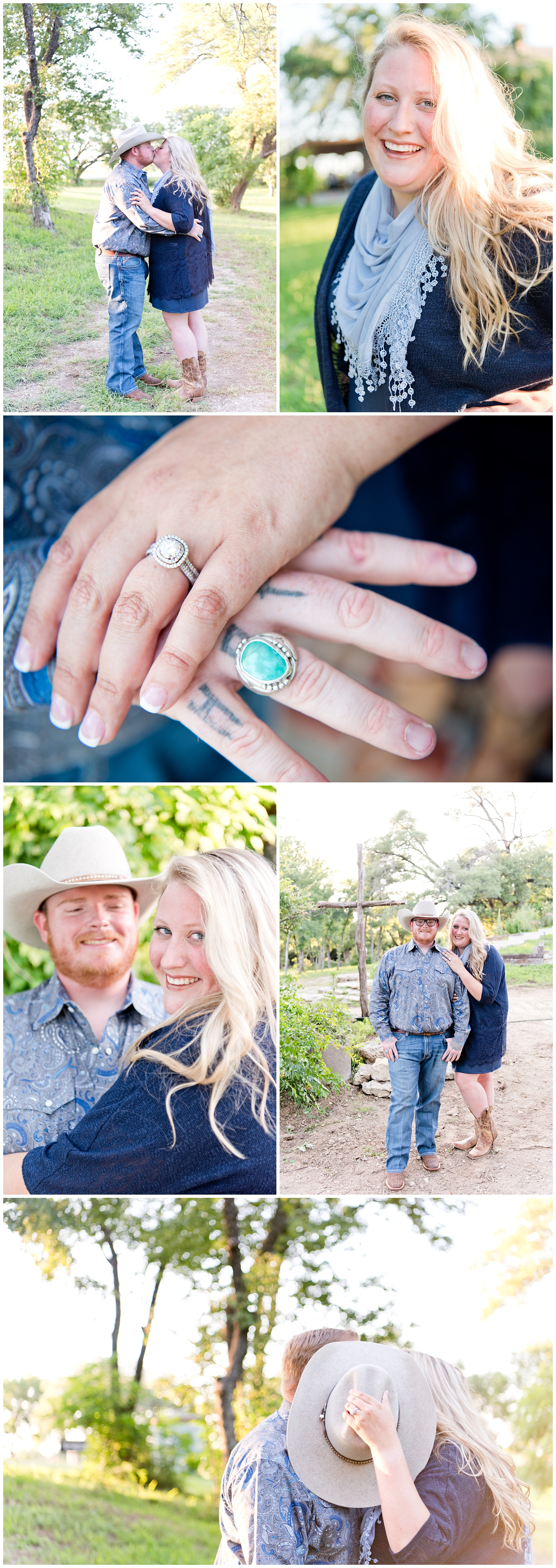 Fort Worth Garden Engagement Session