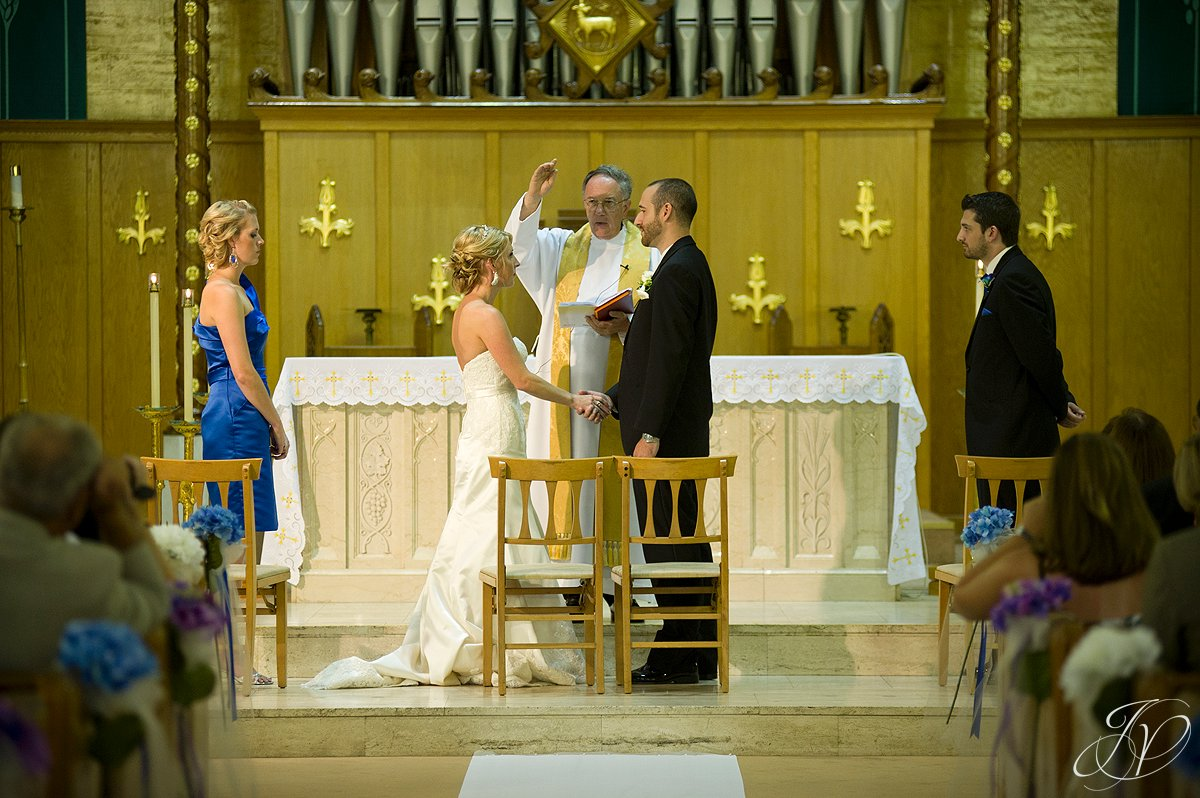 wedding blessing, blessed sacrament wedding photos, wedding ceremony photos, Albany Wedding Photographer