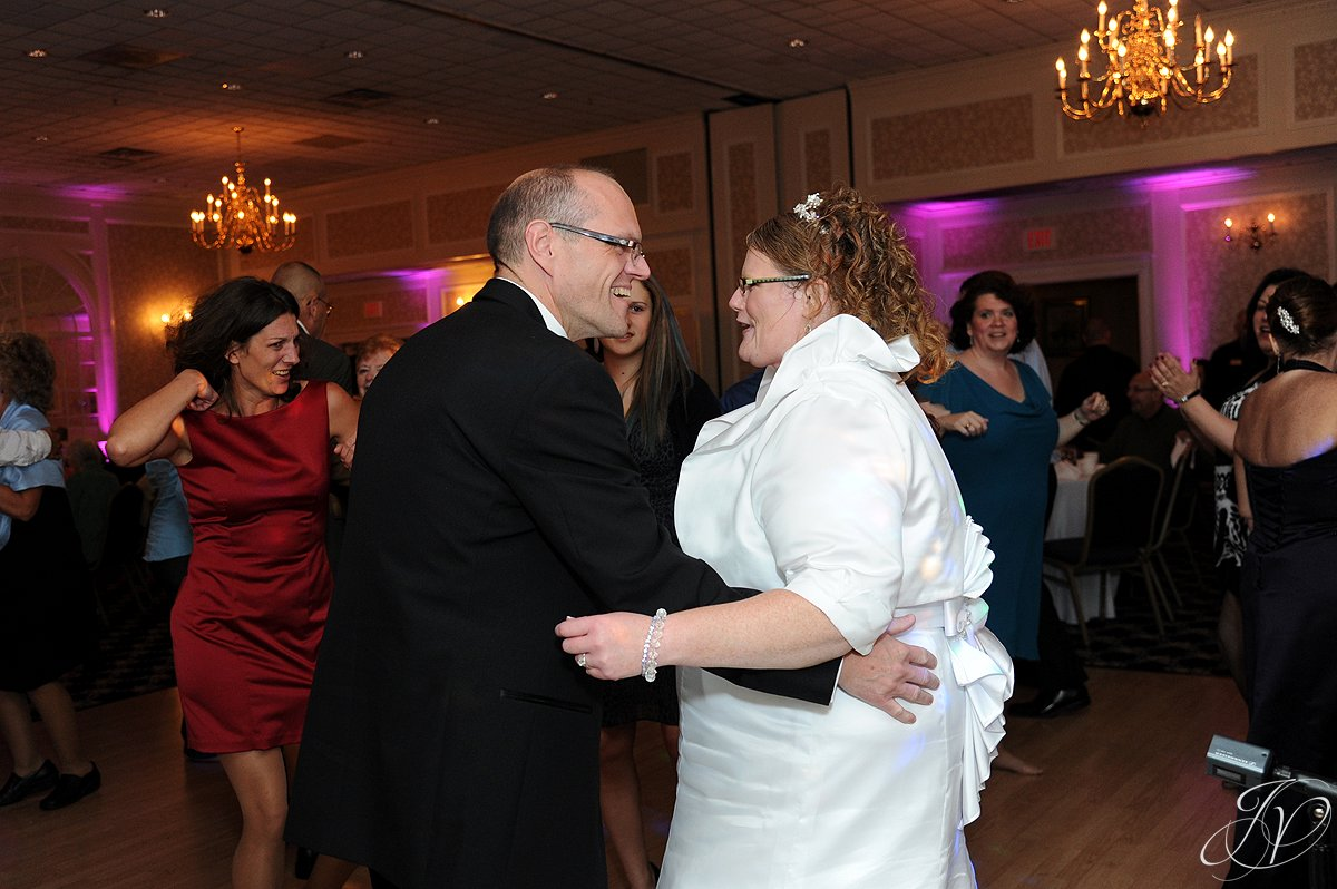 bride and groom dancing, Lake George Wedding Photographer, wedding reception photos, Wedding at The Queensbury Hotel