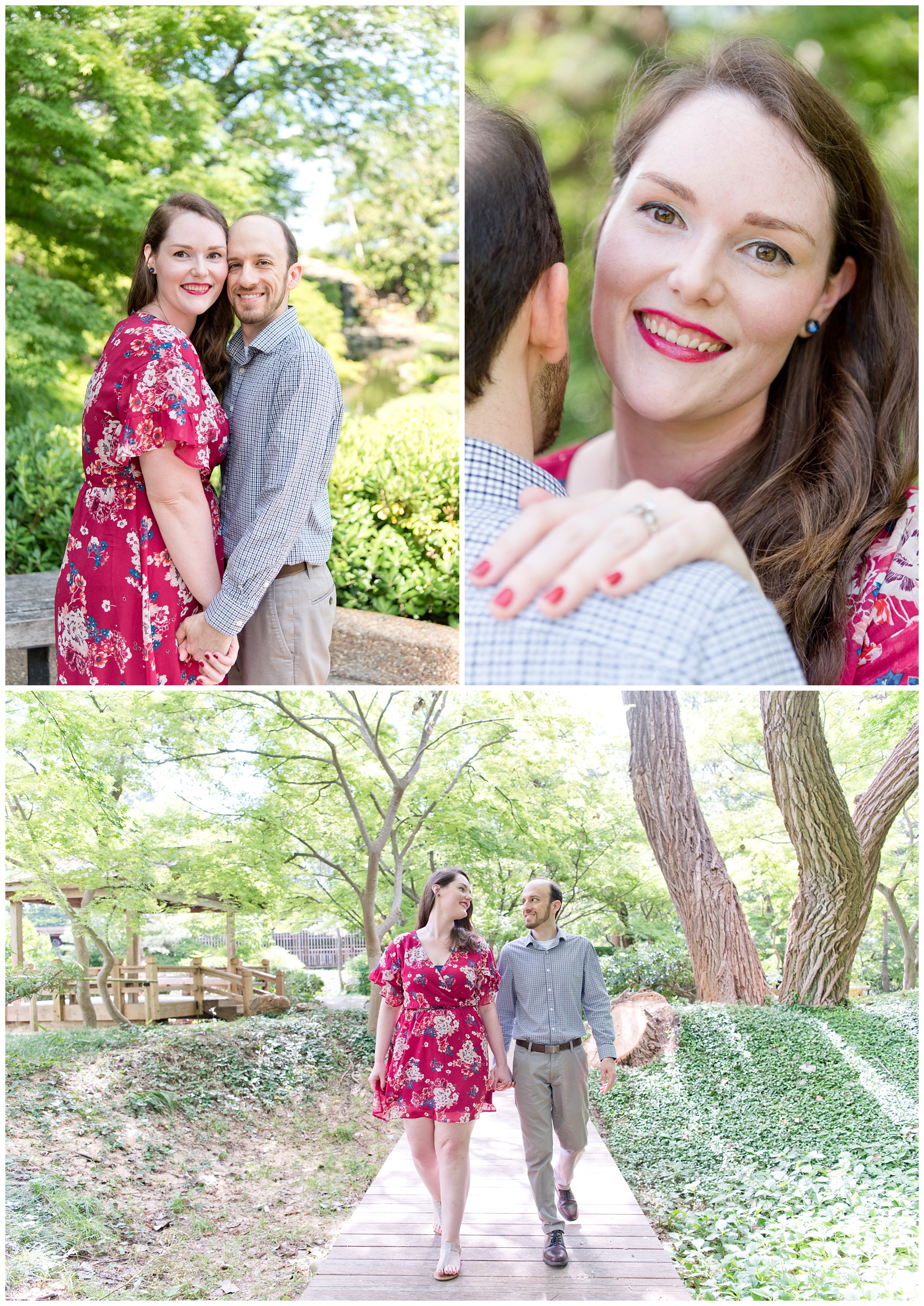 Summer Engagement Session Texas