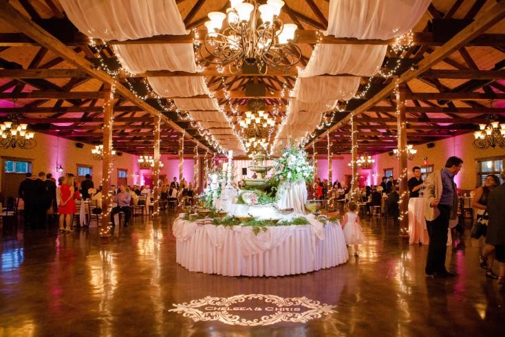 Stonebrige Wedding Reception With Metropolitan Dj Lighting Disc