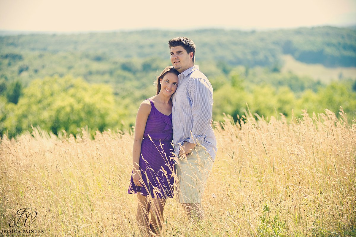 engagement session in field, Chatham engagement photographer, albany engagement, engagement portrait, on location photography
