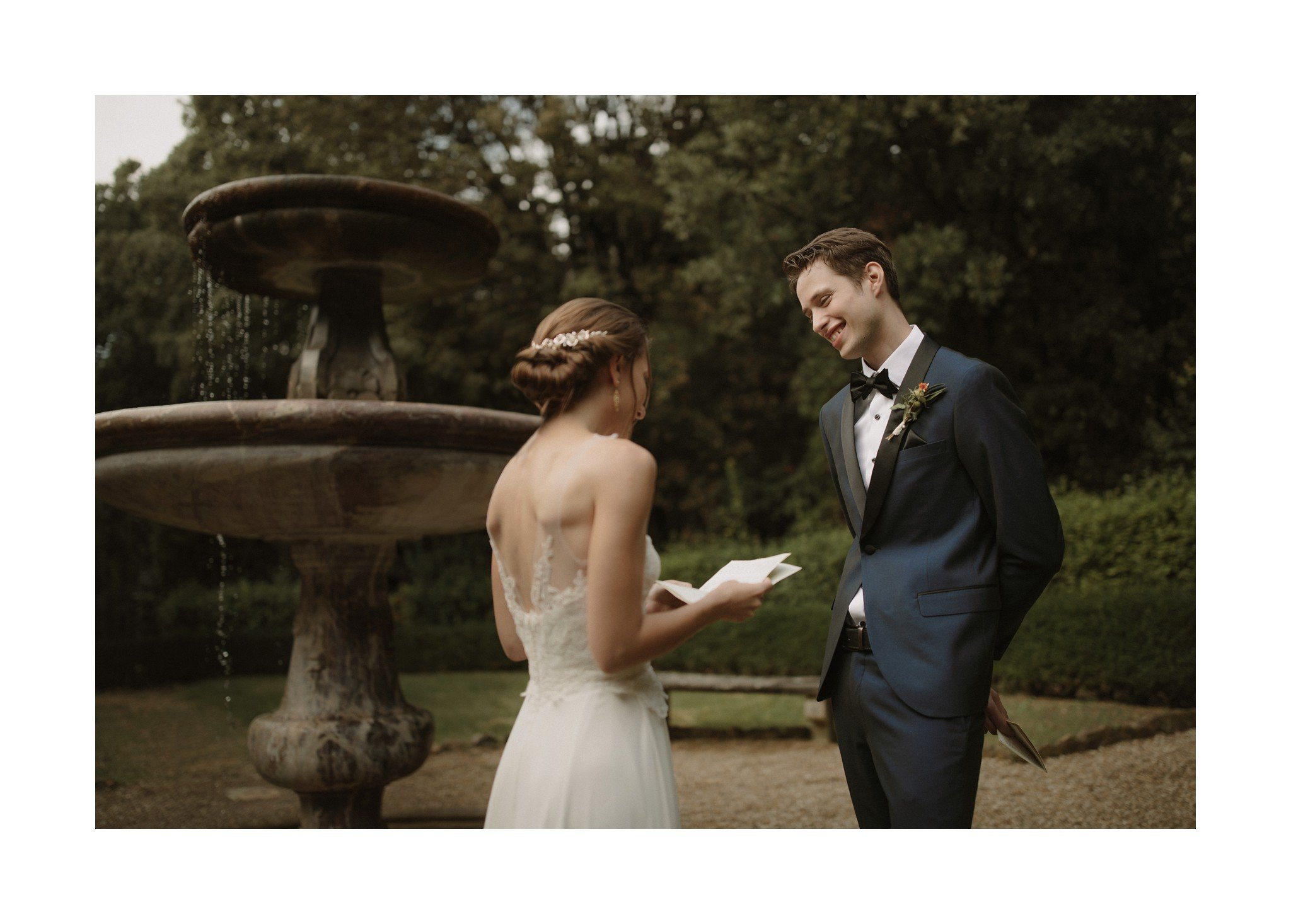 elopement vows
