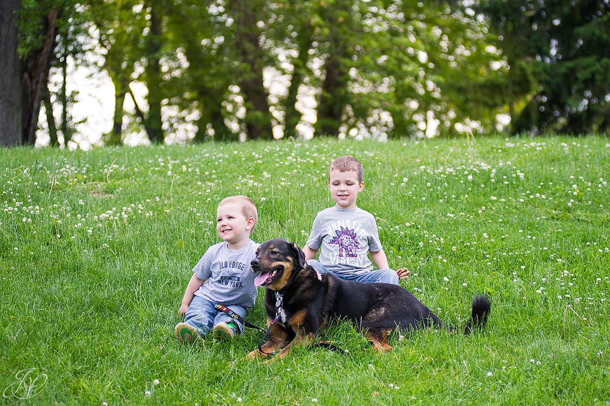 animal rescue family, rescue portraits
