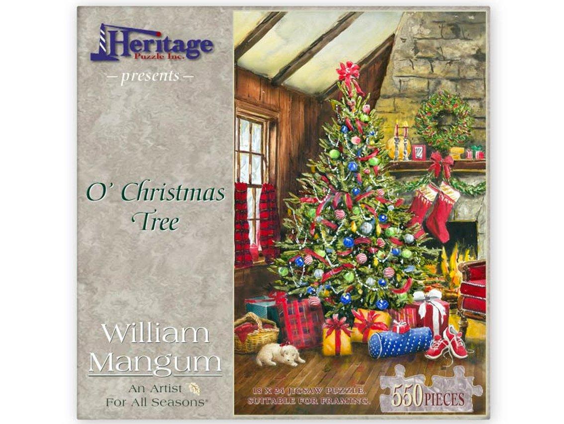 O\' Christmas Tree Puzzle - William Mangum Fine Art