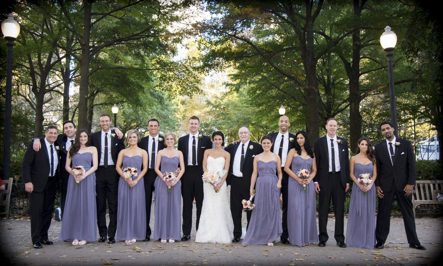 rittenhouse square wedding party