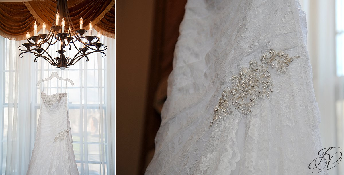 Wedding at The Stockade Inn, Schenectady Wedding Photographer, wedding dress details, wedding dress photo