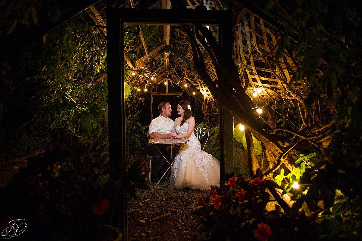 wedding night shots, unique night shots