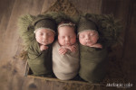 Baby Nathan's Wrapped Mini Session - Fairfield, CT Newborn Photographer