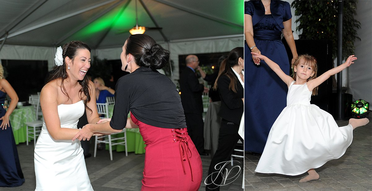 bride dancing photo, wedding reception photo, schenectady wedding photographer, riverstone manor reception, riverstone manor terrace tent