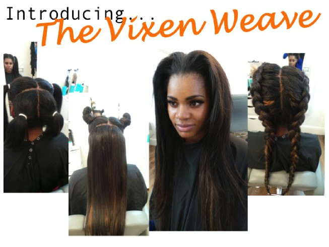 The versatile vixen weave khairmax the vixen weave is the latest craze to be sweeping the hair salon industry this weave technique is great as its versatility allows you the freedom to style pmusecretfo Gallery