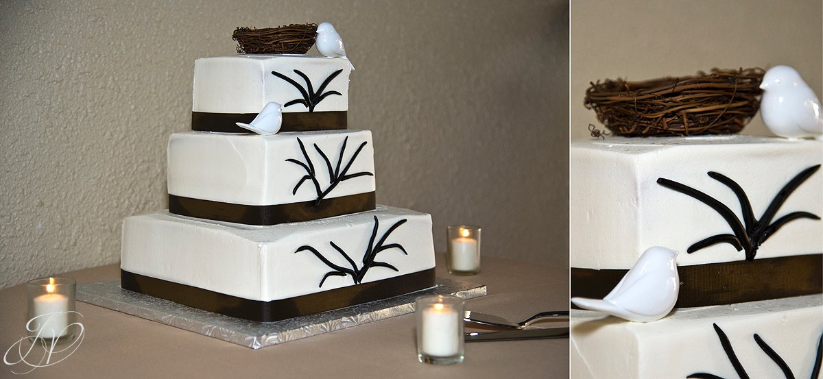 wedding cake photo, reception details, Longfellows, Saratoga Wedding Photographer