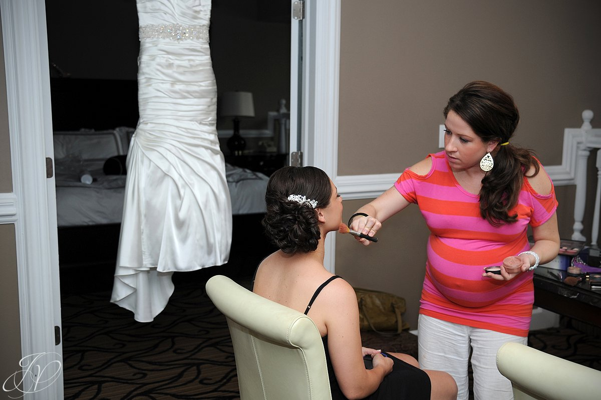 beautiful bride getting ready, Albany Wedding Photographer, The Glen Sanders Mansion, wedding dress, wedding detail photo