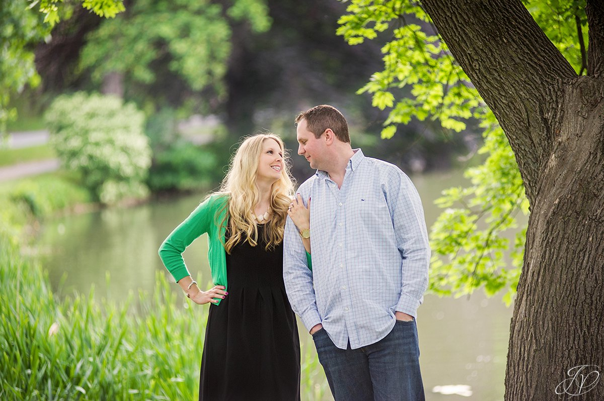 cute couple in washington park albany ny