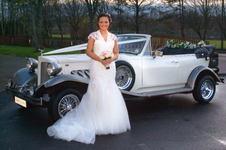 Gold Choice Wedding Cars goes to the Scottish Wedding Show