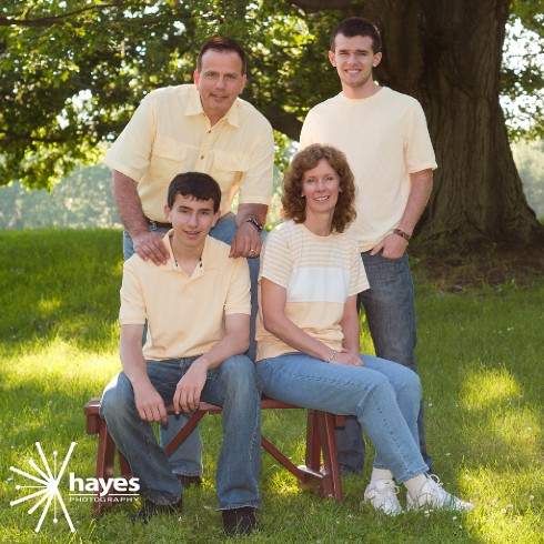 family portraits, webster photographer, outdoor portraits, Webster Park, Hayes Photography