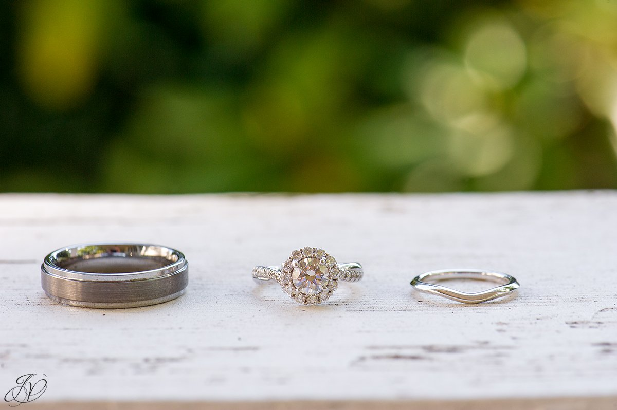 vintage wedding rings, jessica painter photography