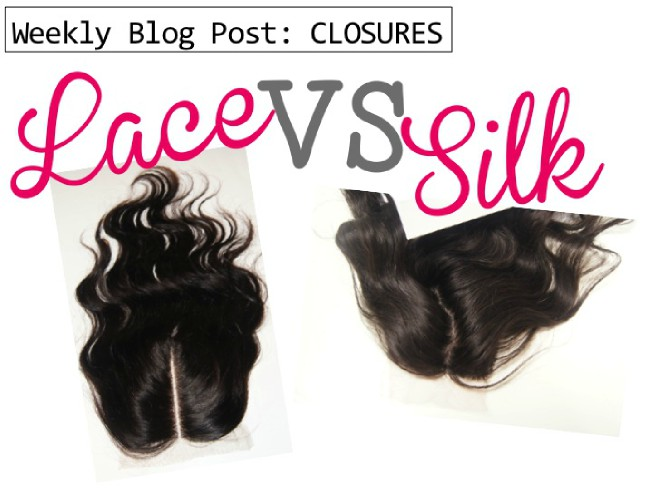 lace closure vs silk closure