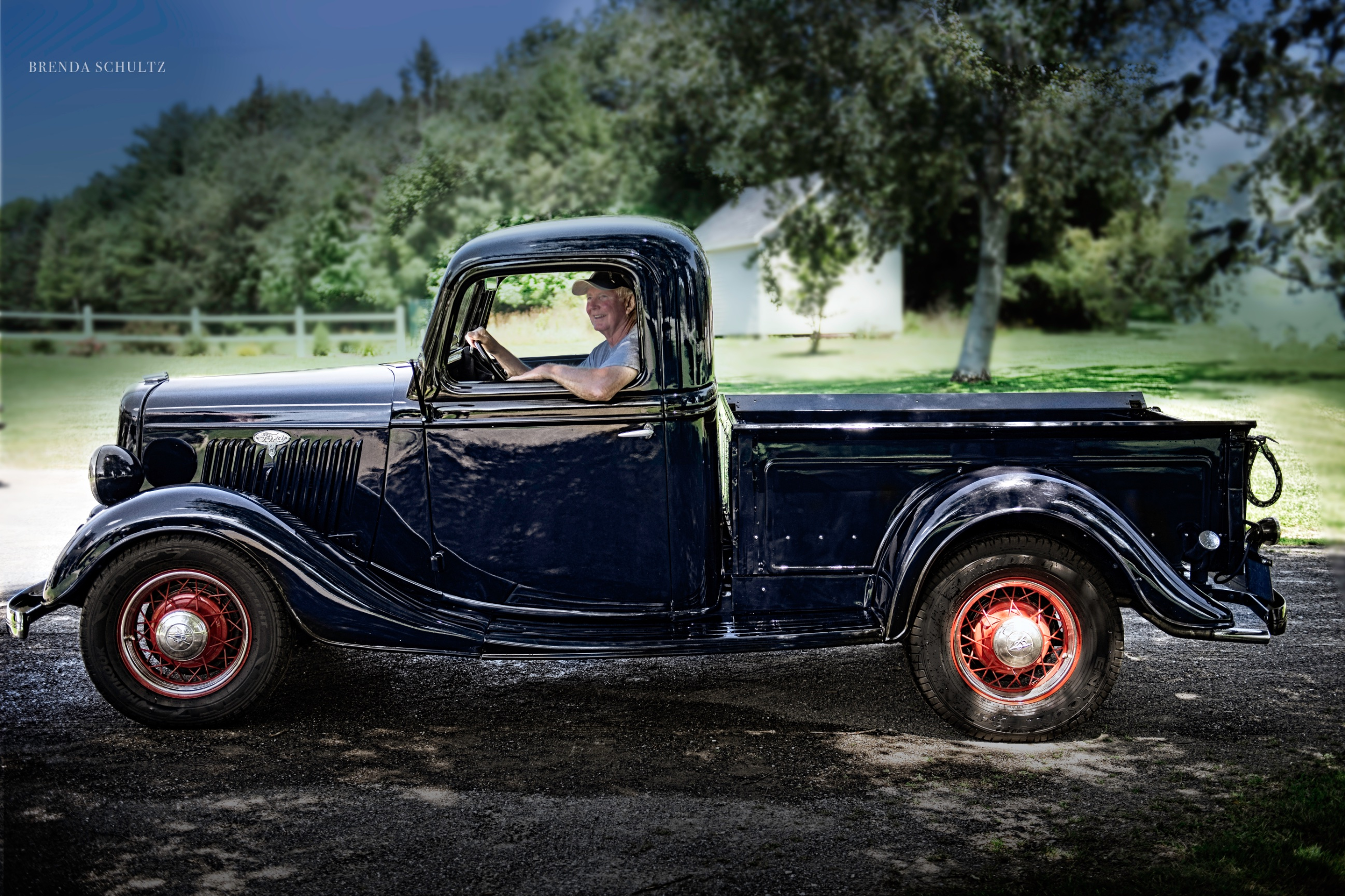 Vintage Car Photography - Brenda Schultz Photography