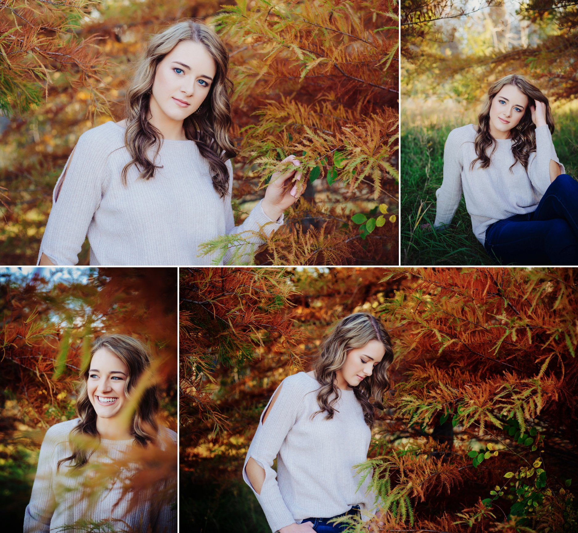 A perfect fall day for a senior shoot in Wahoo Nebraska