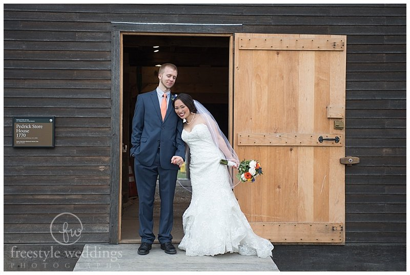 A Teeny Tiny Intimate wedding at Finz on Pickering Wharf in Salem, MA, photographed by Freestyle Weddings