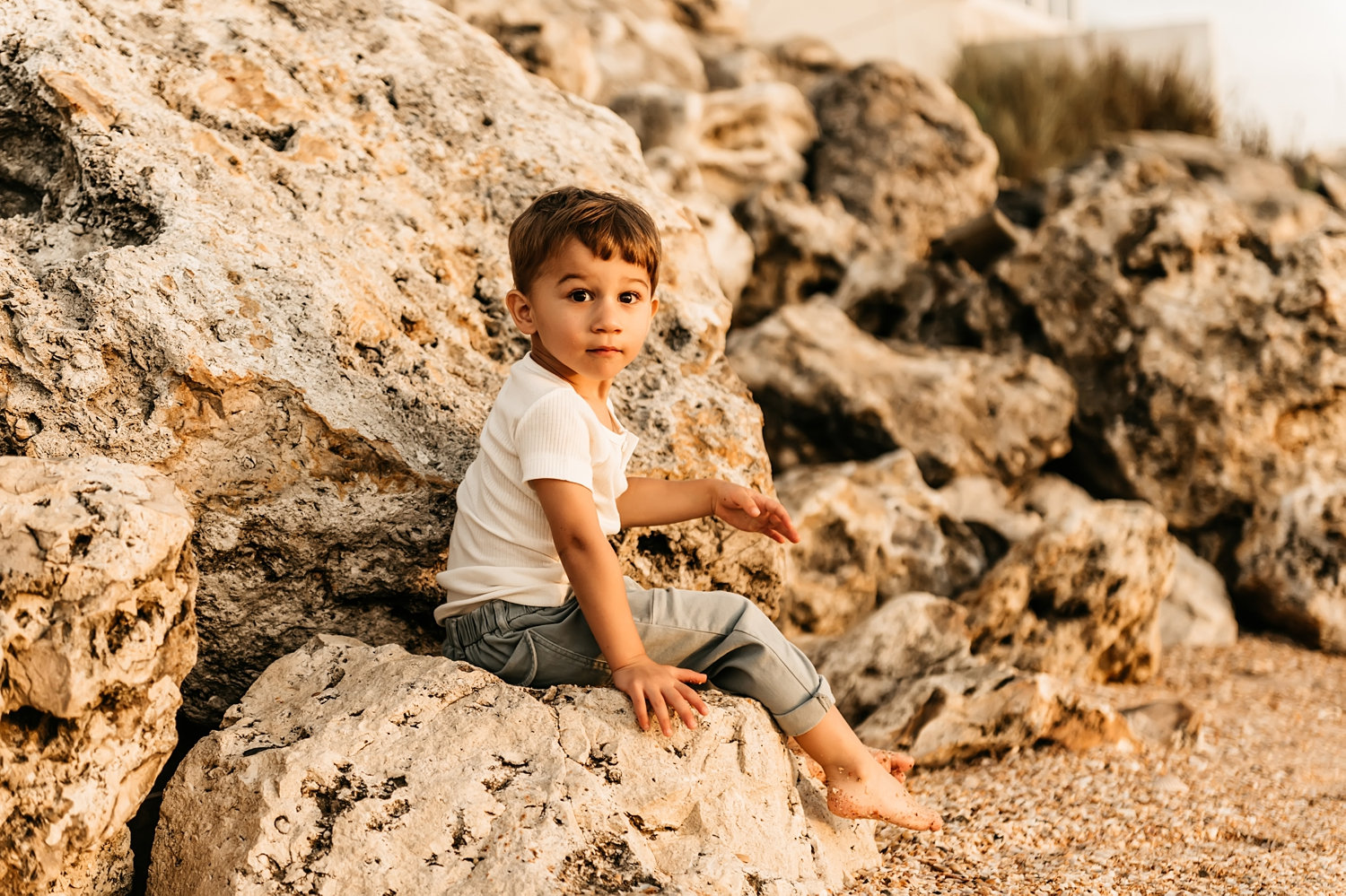 beach toddler portrait, beach toddler portrait boy, sunrise photo session, Ryaphotos